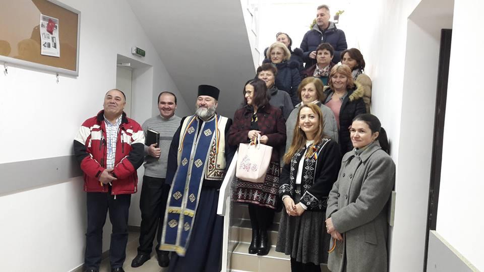 La Sănduleni a fost inaugurat un corp nou de  clădire la Școala Gimnazială