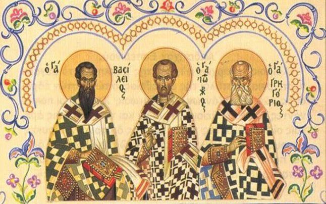 Sfinții Trei Ierarhi – Apostoli ai cuvântului lui Dumnezeu