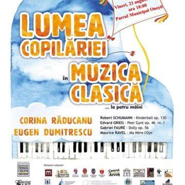 Eveniment muzical în Parcul Municipal Onești