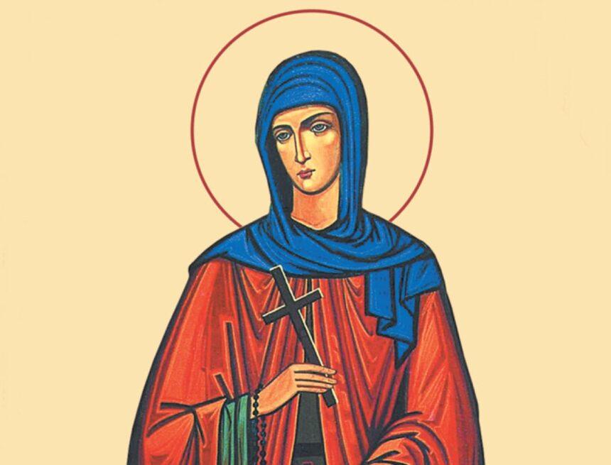 Povestea  Cuvioasei  Teodora de la Sihla