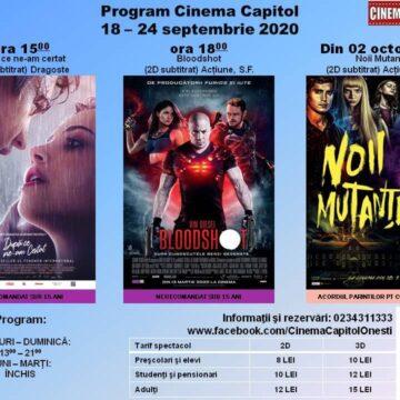"""Un film cu succes la public  la  Cinematograful """"Capitol"""" din Onești – """"După ce ne-am certat"""""""