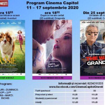 """Se  redeschide  Cinematograful """"Capitol"""" din Onești"""