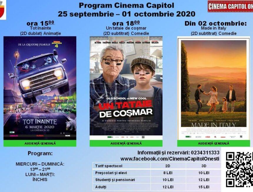 """Premieră cinematografică la Onești – Robert de Niro  este """"Un  tataie de coșmar"""""""