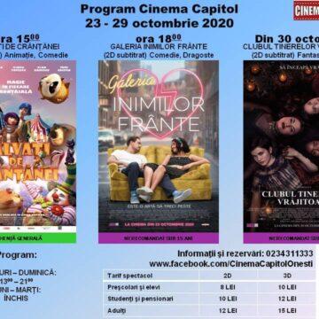 """""""Galeria inimilor frânte"""" la Cinematograful """"Capitol"""" din Onești"""