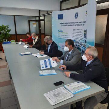Noi investiții în infrastructura de apă  și canalizare din municipiul Onești