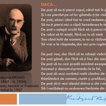 Moment   literar – Rudyard Kipling