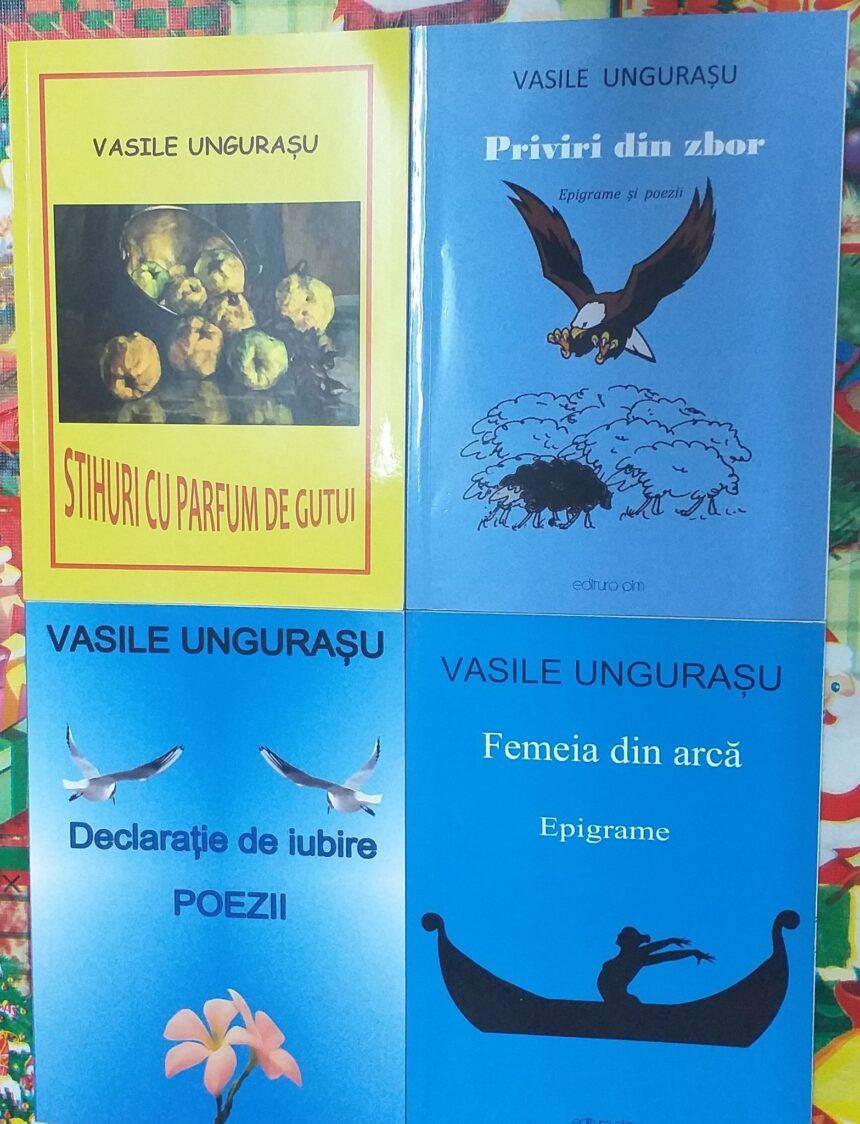 Cărțile lui Vasile Ungurașu în peisajul pitoresc al lumii