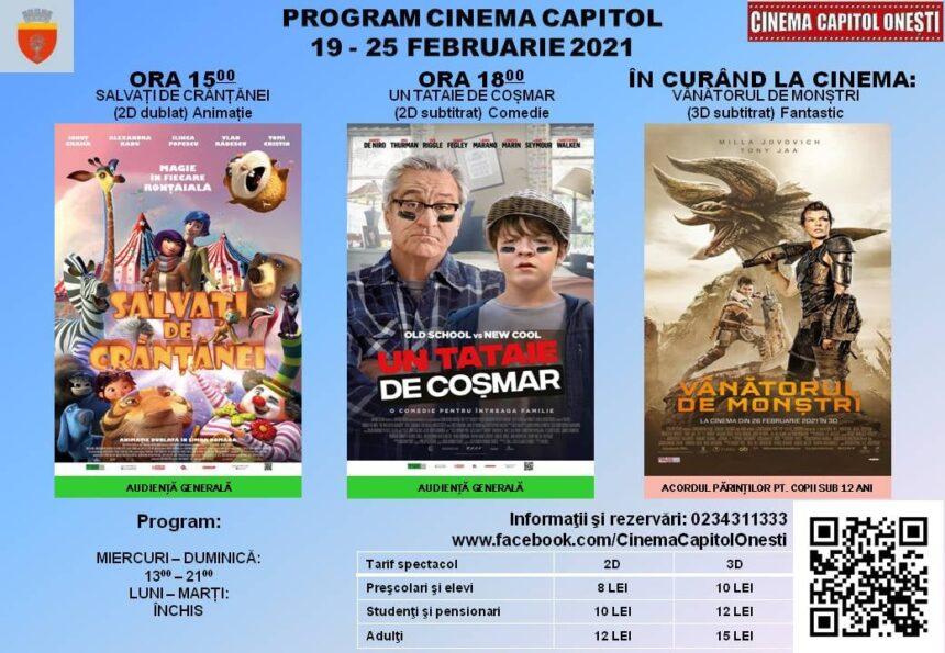 """La film, la Cinematograful """"Capitol"""" din Onești"""