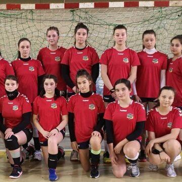 Un nou succes pentru  echipa de handbal feminin (junioare III) ASCO  Comănești