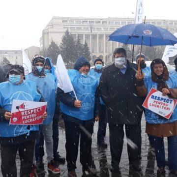 Organizațiile  sindicale internaționale  denunță  măsurile de austeritate, refuzul dialogului social  și atacurile la  adresa sindicatelor  din România