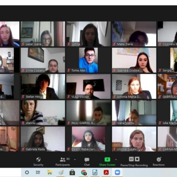 """Colegiul Național """"Grigore Moisil"""" Onești construiește punți de comunicare  către  viitorul Europei"""