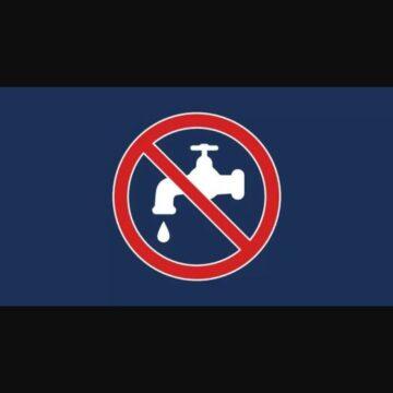 Atenție, se opreste apa in aceasta noapte!