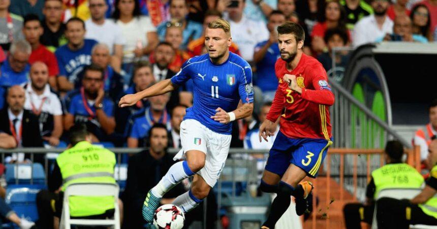 Euro  2020, Italia – Spania –  Spre Everest, în mijlocul unei furtuni de  vânt