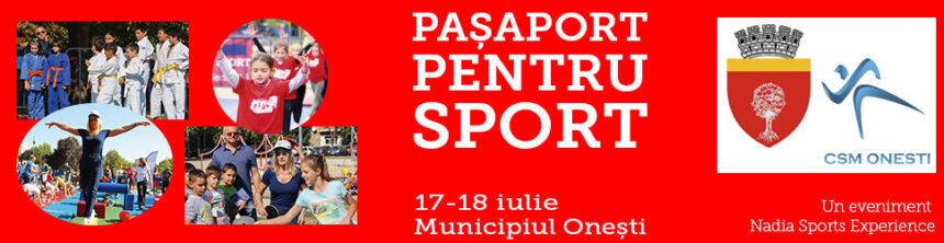 """Nadia Sports Experience – Pașaport pentru sport"""