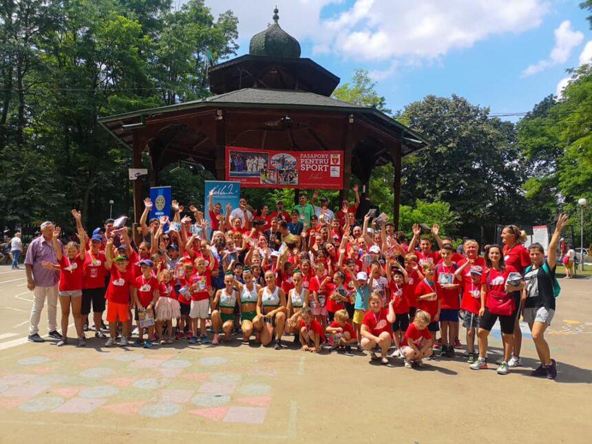 """Parcul Municipal din Onești a prins viață la  evenimentul """"Nadia Sports Experience – Pașaport pentru Sport"""""""
