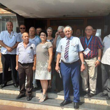 Ședință de bilanț la Asociația Autoritate, Lege și Ordine  din  Onești