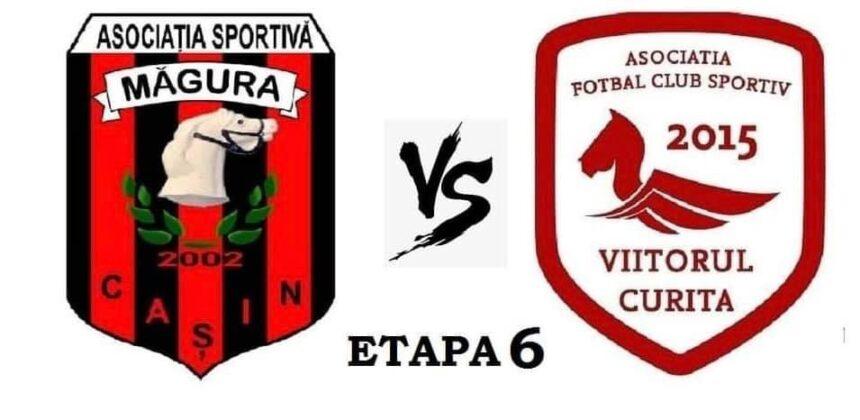"""În Liga a IV a, la fotbal – la  Cașin, vin """"verzii""""!"""